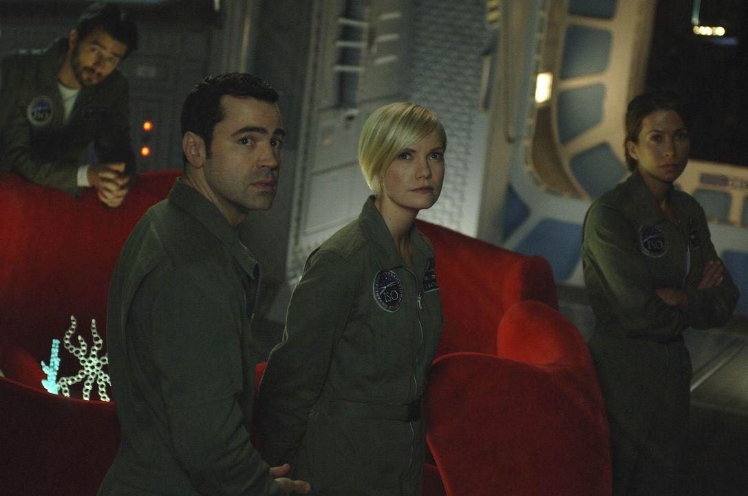 """Die Antares nähert sich """"Rubikon"""", dem Punkt, von dem ab die Besatzung das Schiff nicht mehr zur Erde zurücksteuern kann, ohne vorher die Venus zu... - Bildquelle: 2009 Fox Television Studios."""