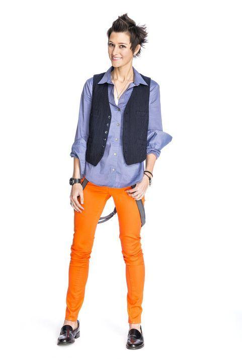 (2. Staffel) -  Stellt sich der Design Challenge: Designerin Melissa Rivera Torres ... - Bildquelle: Warner Bros.