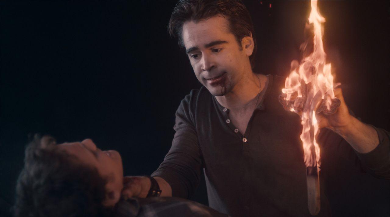 Nacht für Nacht geht Jerry (Colin Farrell) auf Beutefang. Hemmungslos beißt der Vampir alles, was ihm vor Augen kommt. Doch dann macht er sich an... - Bildquelle: Lorey Sebastian, John Bramley Dreamworks Studios.  All rights reserved