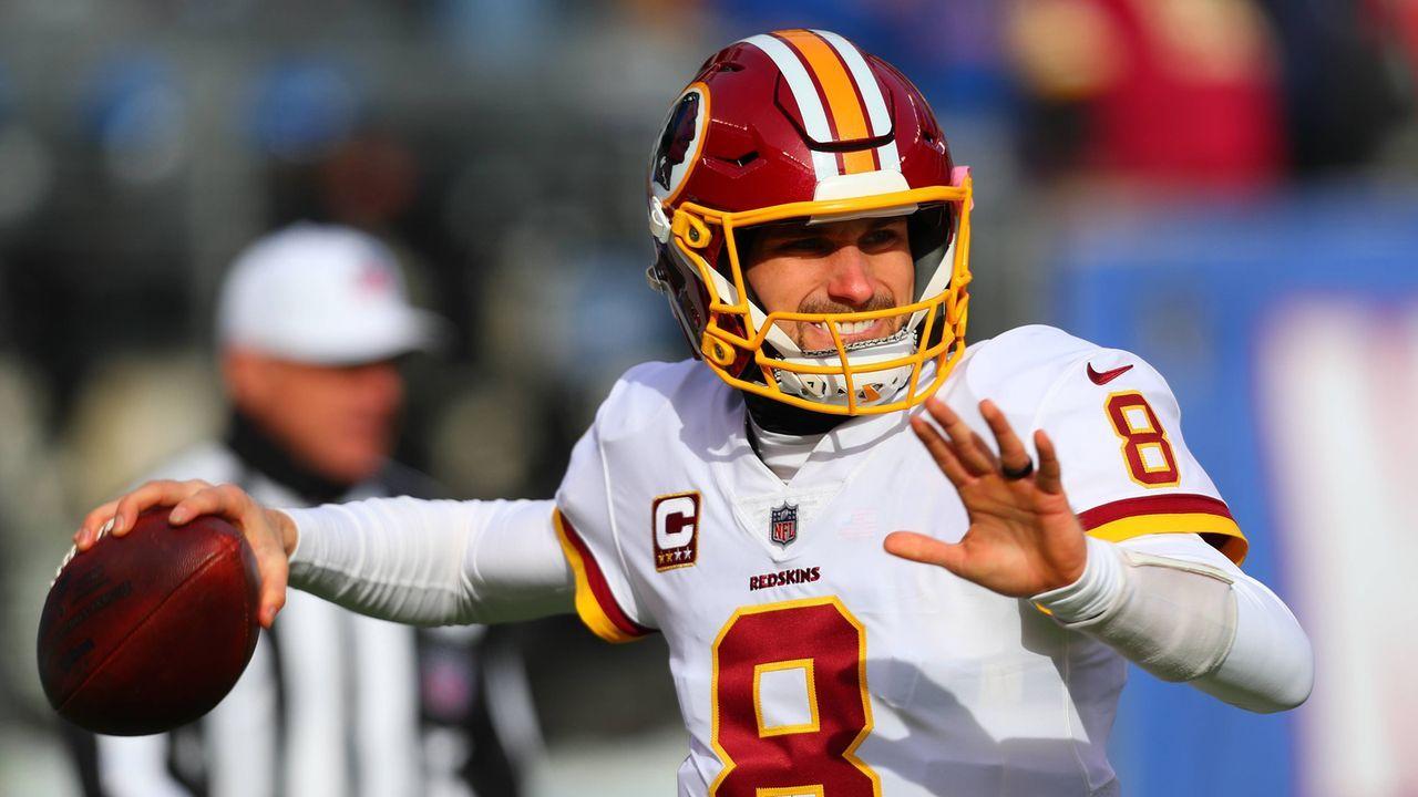 Platz 8: Kirk Cousins (Minnesota Vikings) - Bildquelle: Getty Images