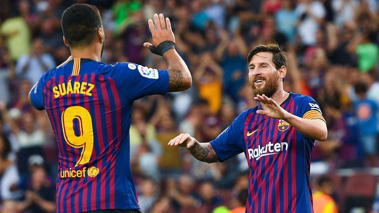 Platz 2: FC Barcelona - Bildquelle: 2018 Getty Images