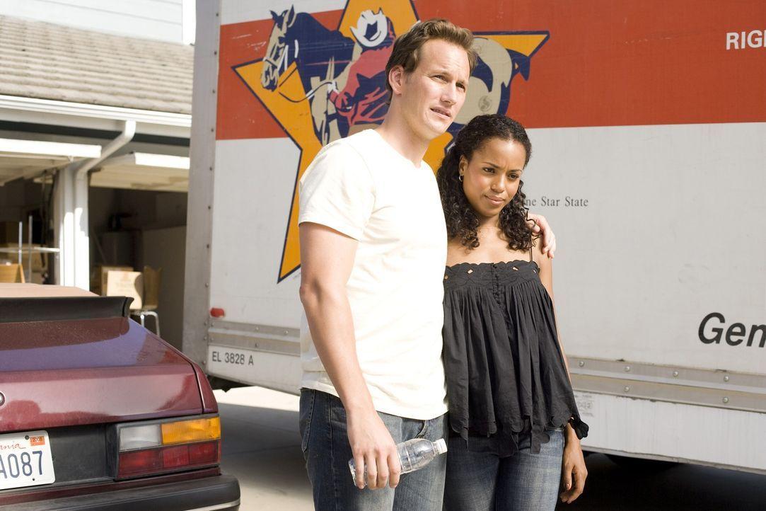 Lisa (Kerry Washington, r.) und Chris (Patrick Wilson, l.) sind frisch verheiratet, und ziehen glücklich ins erste Eigenheim. Doch die gemischtrassi... - Bildquelle: 2007 Screen Gems, Inc. All Rights Reserved.