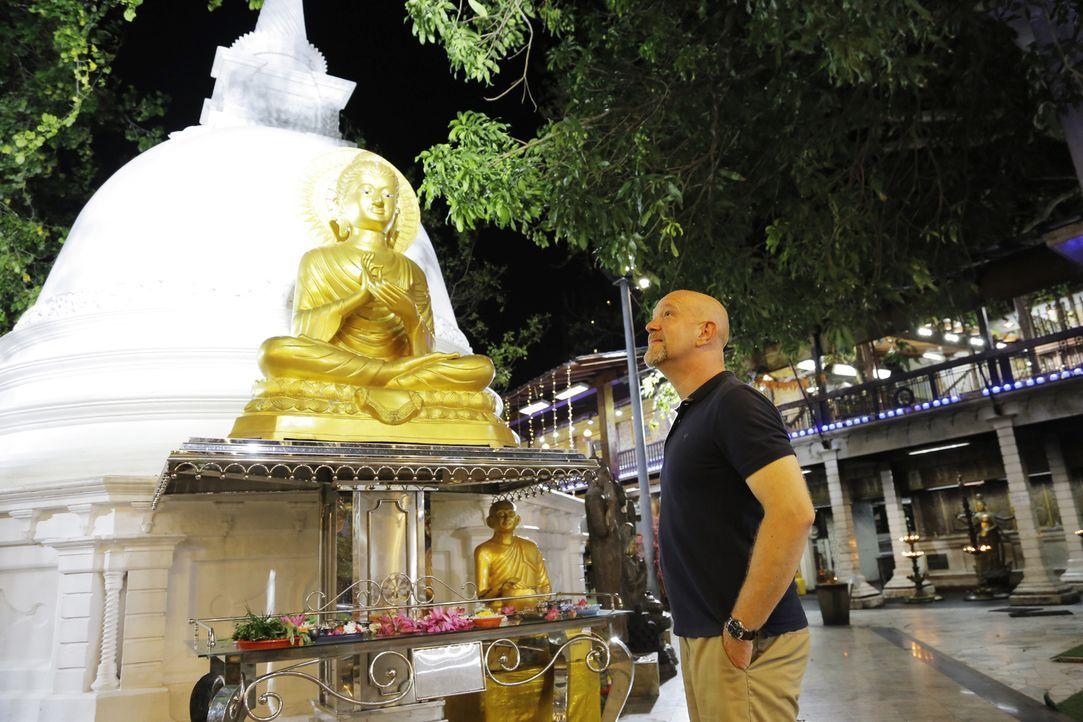 Auf seiner Reise durch Bali, Kuala Lumpur und Sri Lanka stößt Peter Giesel auf einige Betrüger und trifft deutsche Opfer und hört deren unschöne Url... - Bildquelle: kabel eins