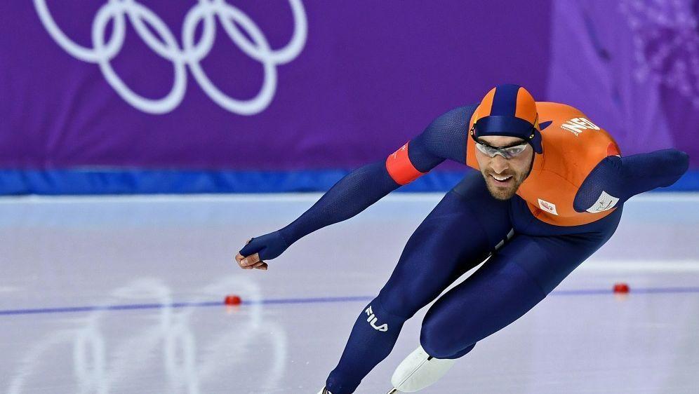 Kjeld Nuis gewinnt Gold über die 1500 m - Bildquelle: AFPSIDARIS MESSINIS