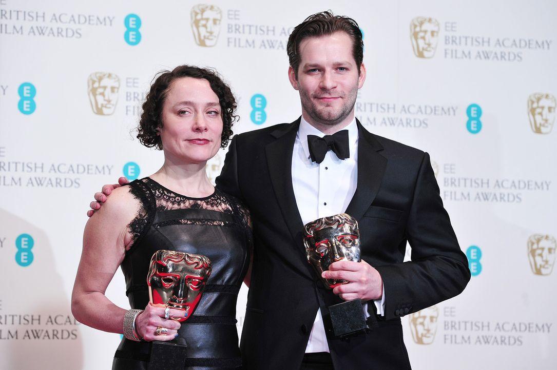 BAFTA-James-W-Griffiths-Sophie-Venner-14-02-16-AFP - Bildquelle: AFP