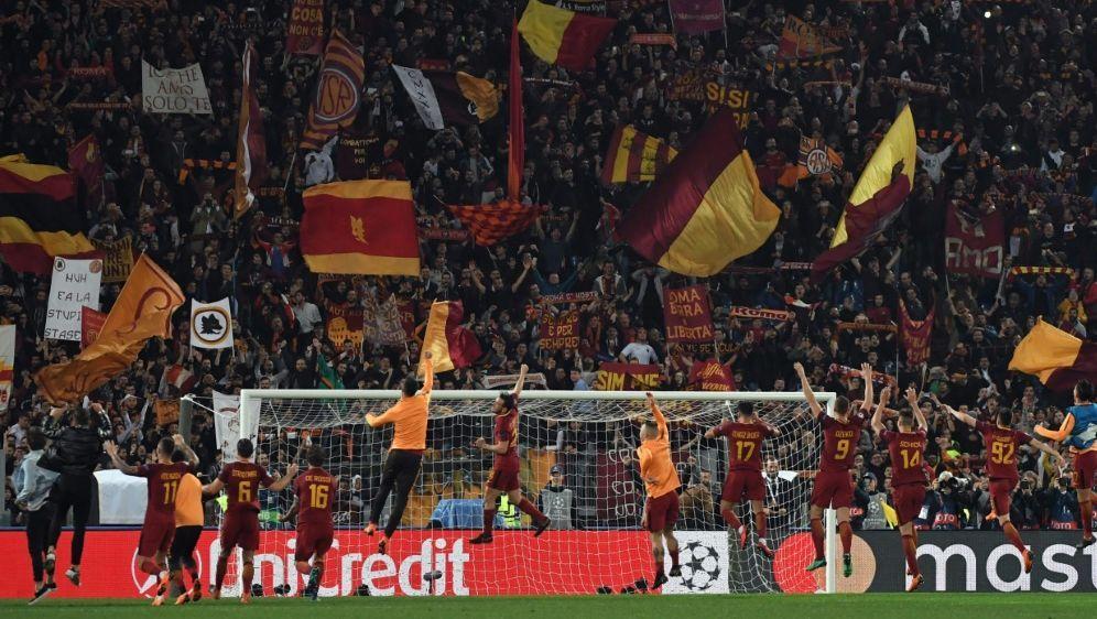 Der AS Rom baut zurzeit eine neue Heimspielstätte - Bildquelle: AFPSIDANDREAS SOLARO