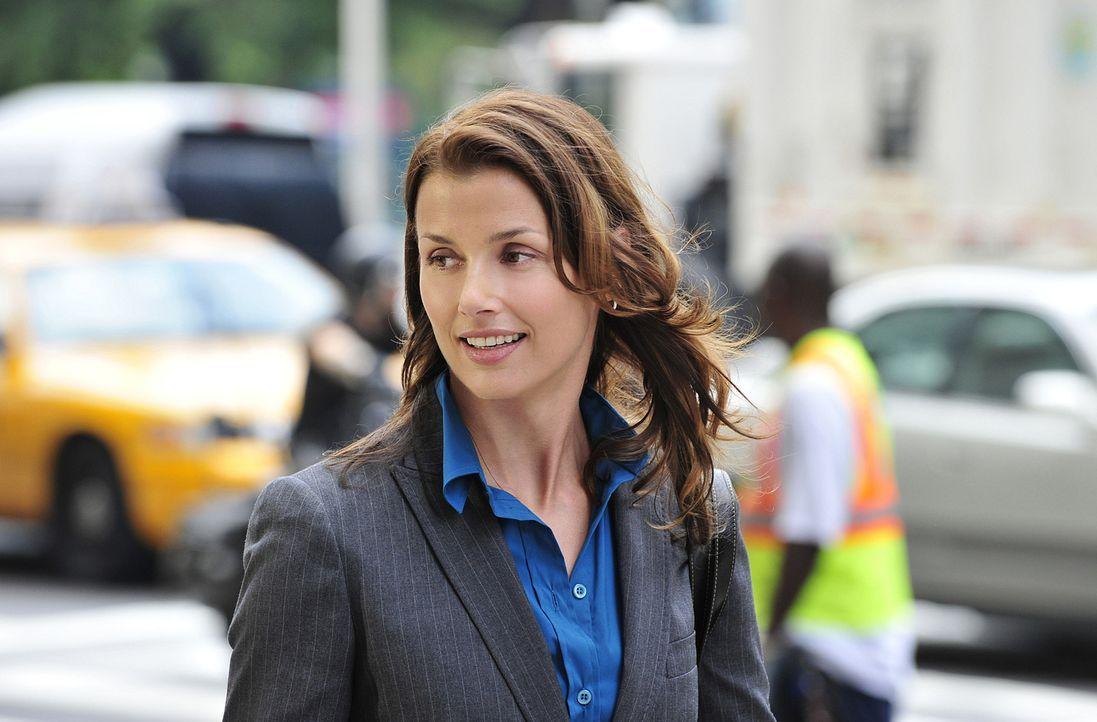 Erin (Bridget Moynahan) macht sich Sorgen um ihren Bruder, der offensichtlich Beziehungsprobleme hat. - Bildquelle: 2010 CBS Broadcasting Inc. All Rights Reserved