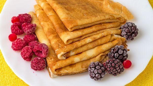 Einfaches Pfannkuchen-Grundrezept