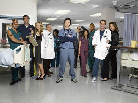 Scrubs - Die Anfänger - (7. Staffel) - Die Truppe vom Sacred Heart Hospital:...