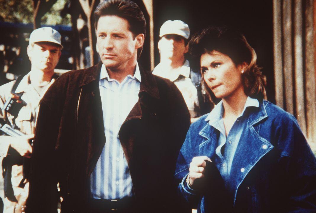 Werden vom Geheimdienst hintergangen: Lee (Bruce Boxleitner, l.) und Amanda (Kate Jackson, r.) ...
