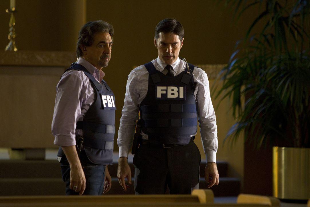 Als das Team sich einem Verdächtigen nähert, der für die Ritualmorde verantwortlich sein soll, die sie in Arizona untersucht hatten, kommt eine b... - Bildquelle: ABC Studios