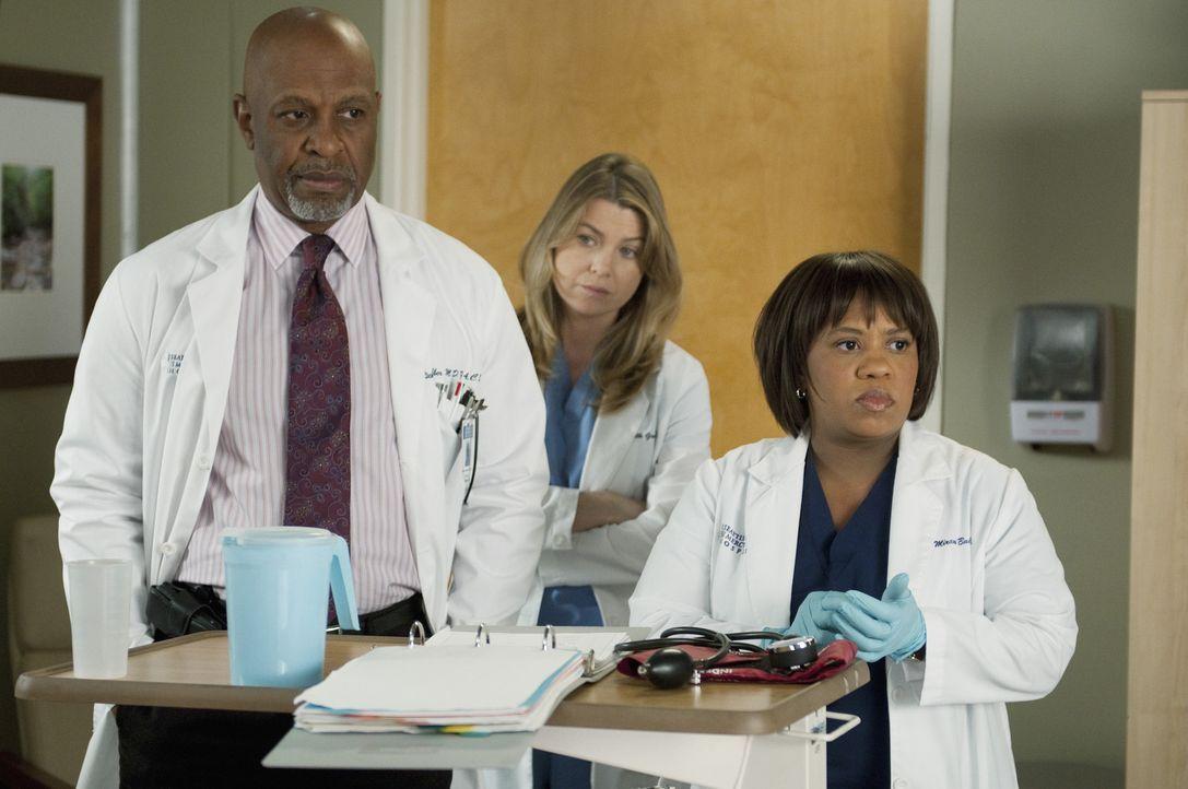 Während sich Meredith (Ellen Pompeo, M.) für ein Fachgebiet entscheiden muss, kümmern sich Webber (James Pickens, Jr., l.) und Bailey (Chandra Wi... - Bildquelle: ABC Studios