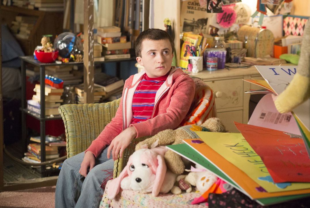 Brick (Atticus Shaffer) - Bildquelle: Michael Ansell 2017 American Broadcasting Companies, Inc. All rights reserved./Michael Ansell