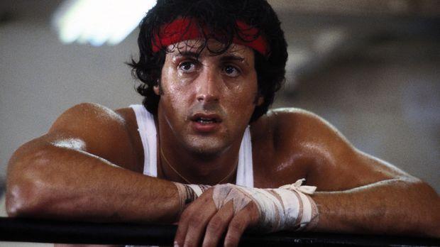 Nachdem Rocky (Sylvester Stallone) den Champion Apollo Creed besiegen konnte,...