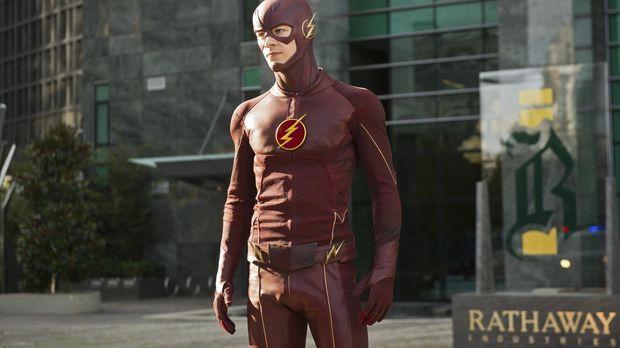 Bekommt einen neuen Gegenspieler: Barry alias The Flash (Grant Gustin) ... ©...