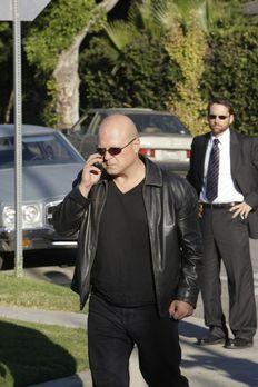 The Shield - Gesetz der Gewalt - Vic (Michael Chiklis, l.) und Ronnie Gardock...