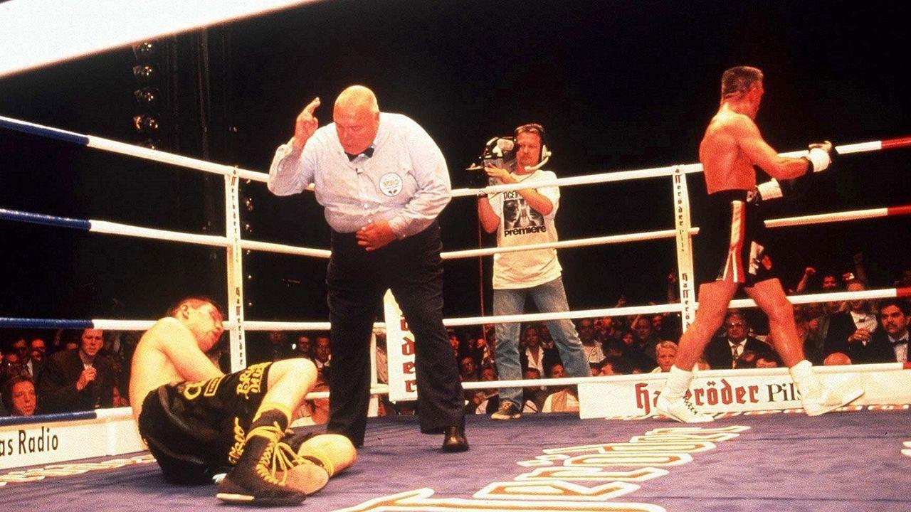 Rocchigiani vs. Dariusz Michalczewski, 10. August 1996, Hamburg - Bildquelle: Getty Images