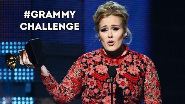 Grammy Challenge: Dankesrede twittern und ins TV kommen