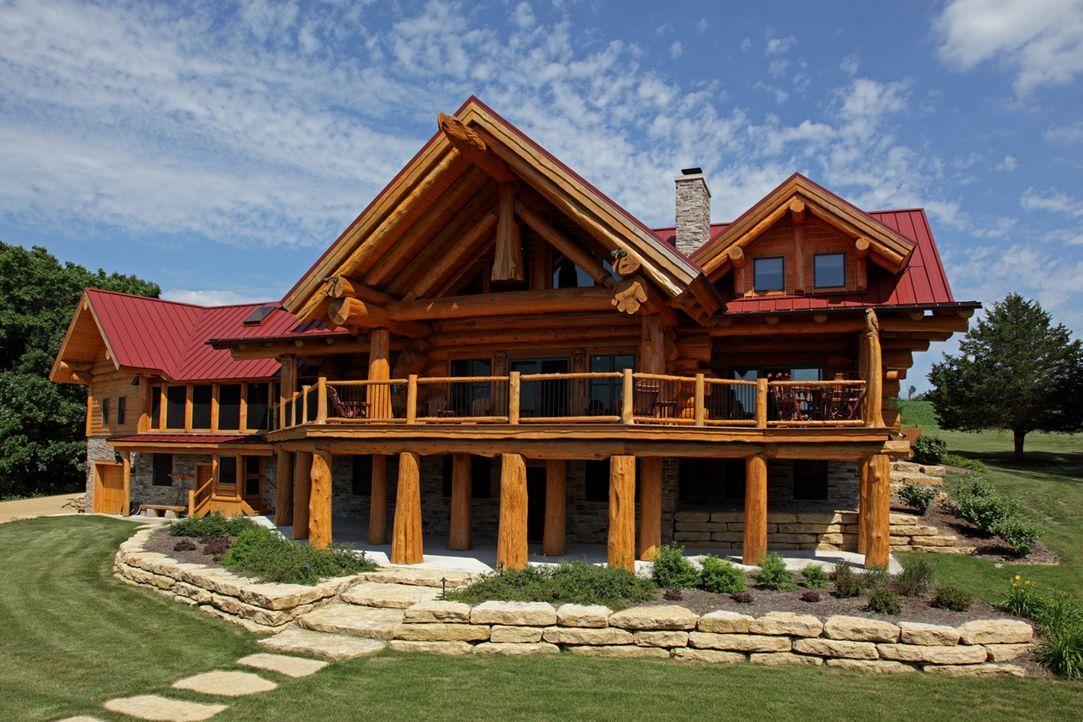 (1. Staffel) - Timber Kings zeigt, dass man aus Holz tatsächlich komplette Häuser bauen kann und nicht nur kleine Hütten, sondern riesige Villen ...... - Bildquelle: Paperny Entertainment 2014