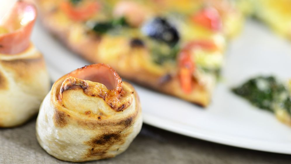 Pizzabrötchen - Bildquelle: © Gerhard Seybert, all rights reserved
