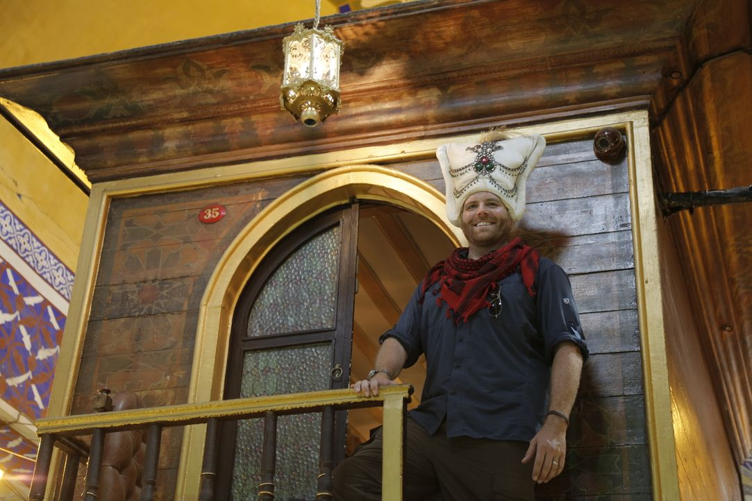 In Ungarn und der Türkei schließt sich Josh Gates Archäologen an, die schon lange versuchen, das Herz des Sultan Süleyman der Prächtige zu finden. W... - Bildquelle: 2015,The Travel Channel, L.L.C. All Rights Reserved