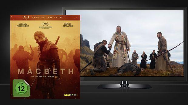 Macbeth - Blu-ray und Szene © Arthaus