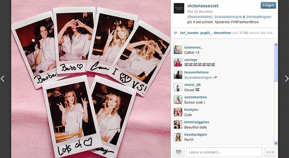 VS-Instagram-24-Instagram - Bildquelle: Instagram/Victoria's Secret