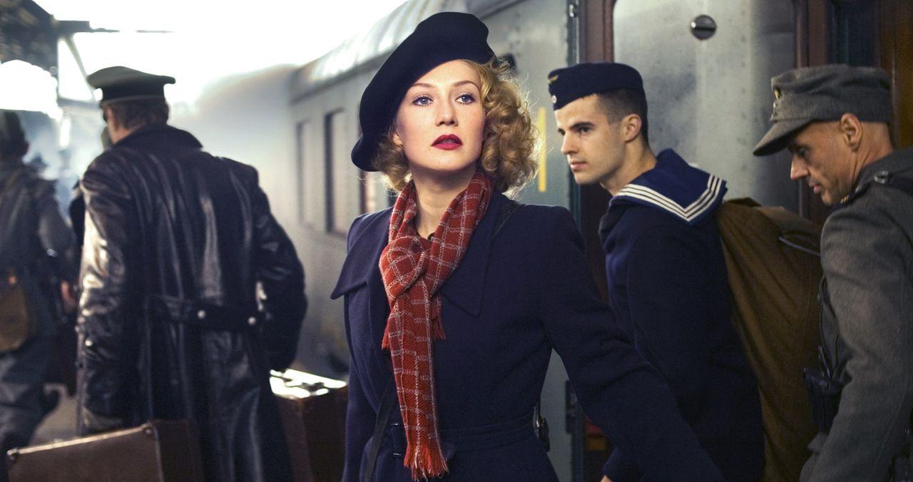 Bei dem Versuch, sich während des Zweiten Weltkriegs in die sicheren Niederlande zu retten, wird die Familie der jüdischen Revuesängerin Rachel (... - Bildquelle: Egoli Tossell Film AG
