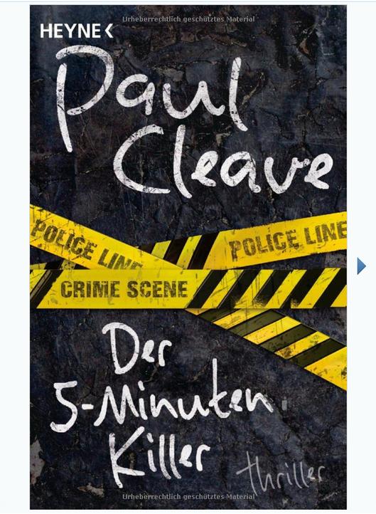Der 5 Minuten Killervon Paul CleaveDer Polizist Theodore Tate versucht zusam... - Bildquelle: Heyne