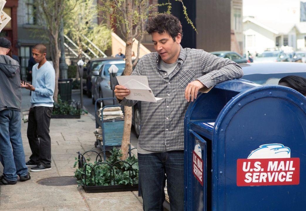 Ohne Fragen zu stellen, muss Ted (Josh Radnor) seinen Freund Marshall aus einer misslichen Lage retten ... - Bildquelle: 2013 Twentieth Century Fox Film Corporation. All rights reserved.
