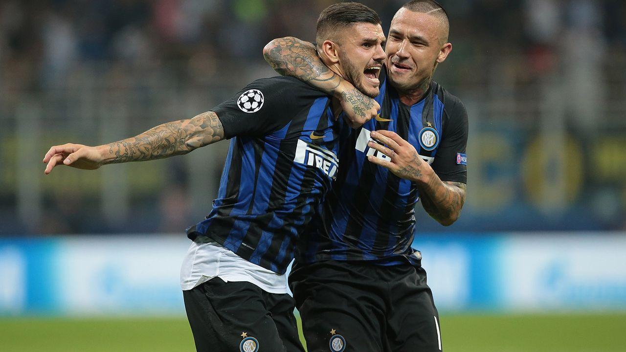 Platz 9: Inter Mailand - Bildquelle: 2018 Getty Images