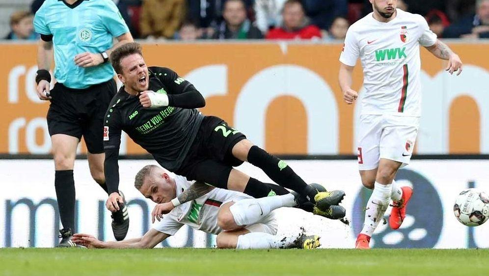 Bundesliga: Augsburg zu stark für Hannover 96 - Bildquelle: FIROFIROSID