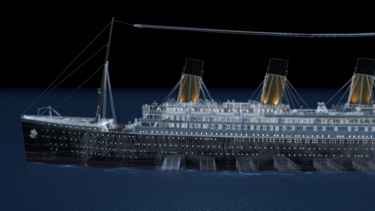 Die dramatische Rekonstruktion des Untergangs der Titanic ... - Bildquelle: Dangerous Films Ltd