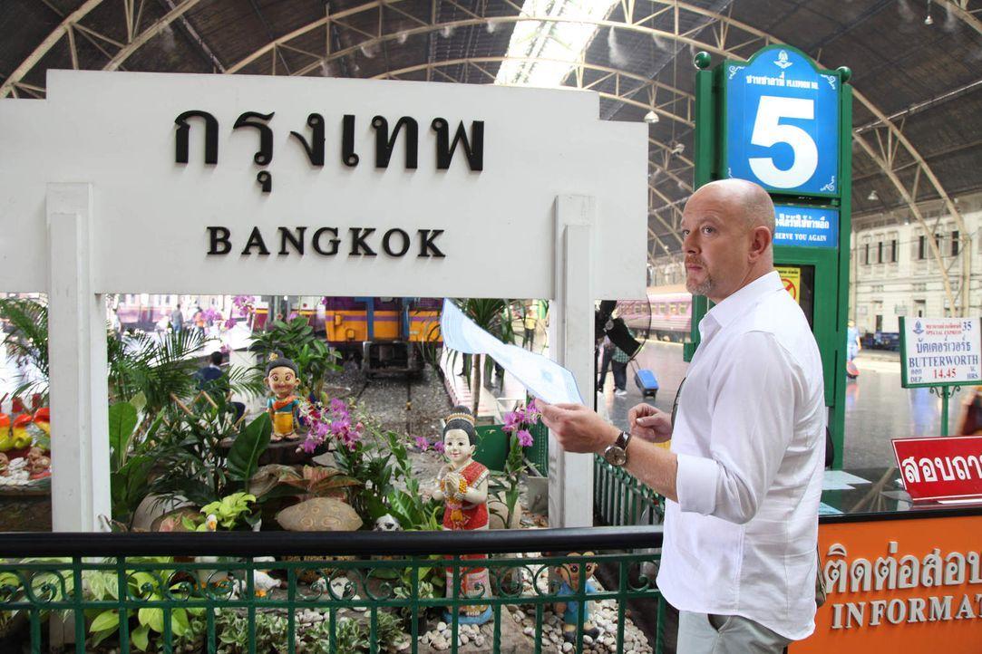 Um Diebe und Abzocker zu entlarven, ist Peter Giesel in Thailand unterwegs ... - Bildquelle: kabel eins