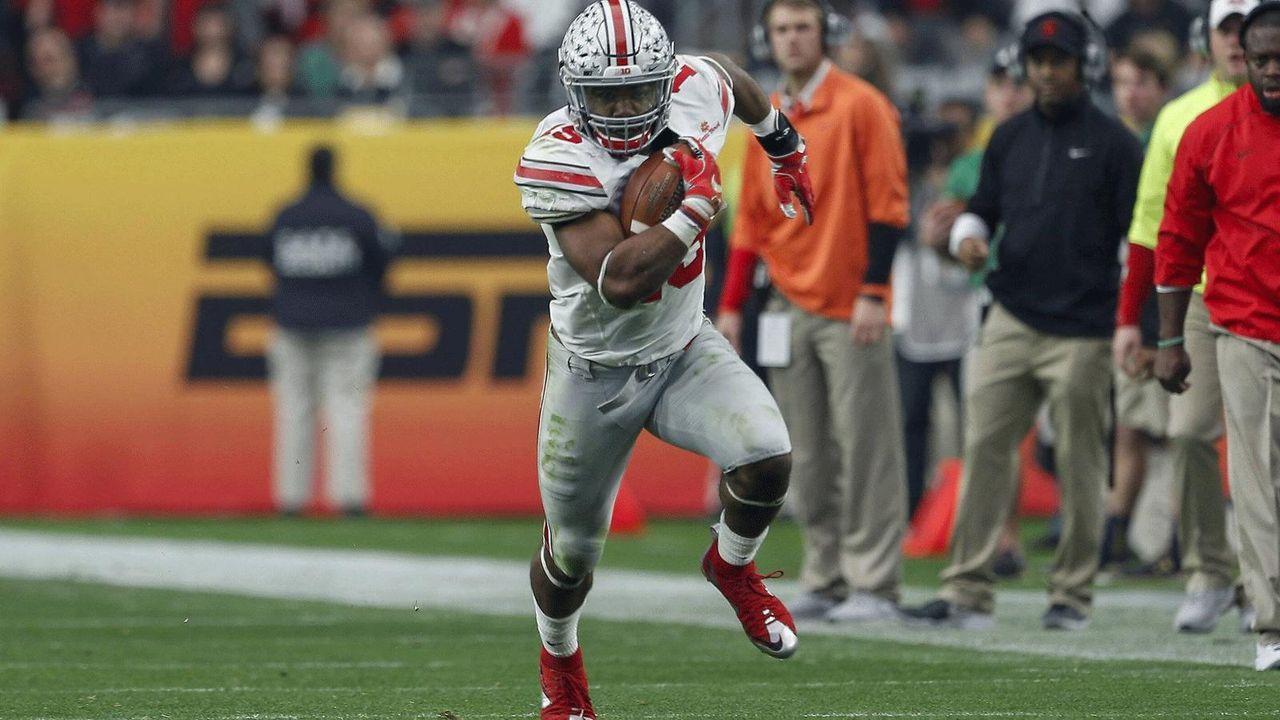 4. Ohio State – 36 Spieler - Bildquelle: Imago