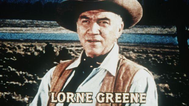 Bonanza - Auf der Ponderosa-Ranch in der Nähe von Virginia City/Nevada leben...