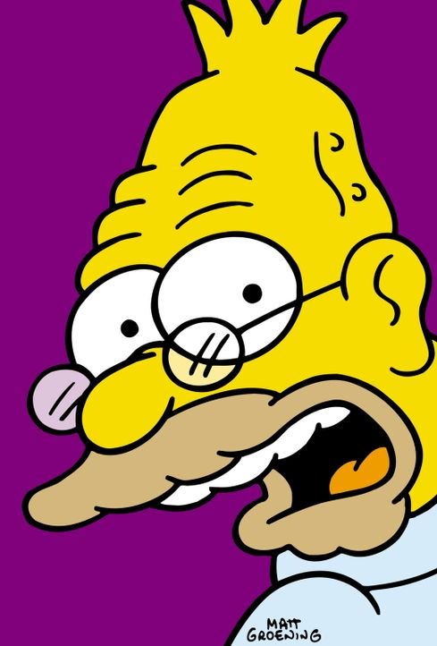 (12. Staffel) - Grampa Simpson hat es nicht immer leicht zwischen dem Rest der Familie. - Bildquelle: und TM Twentieth Century Fox Film Corporation - Alle Rechte vorbehalten