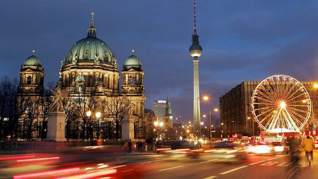 Berlin Dom, Fernsehturm, Riesenrad