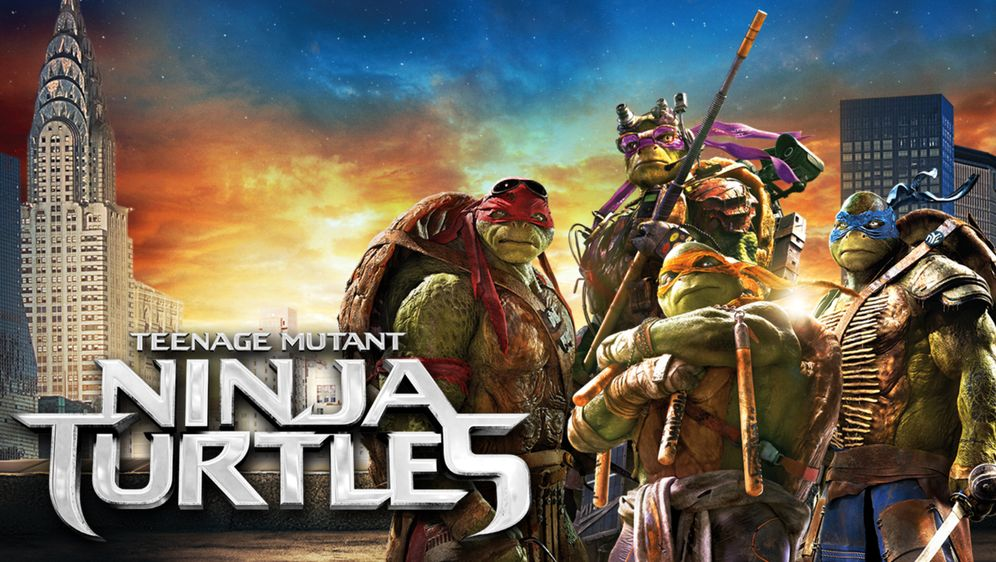 Teenage Mutant Ninja Turtles - Bildquelle: 10.10.2017 •  20:15 Uhr