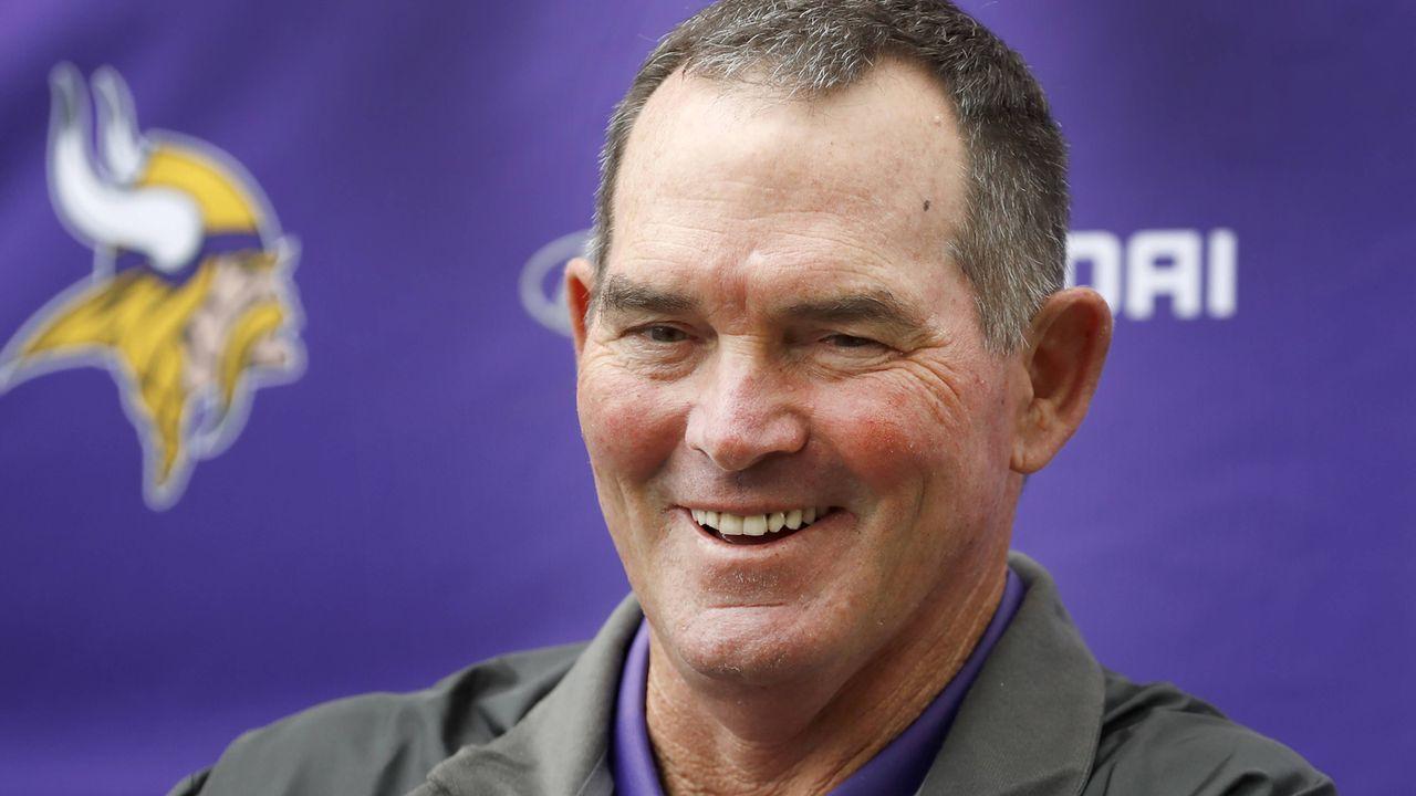 26. Mike Zimmer (Minnesota Vikings) - Bildquelle: imago/ZUMA Press