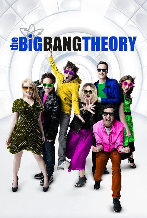(11. Staffel) - Trotz ihrer Unterschiede sind sie eine super Truppe: Howard (Simon Helberg, 3.v.l.), Leonard (Johnny Galecki, 2.v.l.), Penny (Kaley... - Bildquelle: Warner Bros. Television