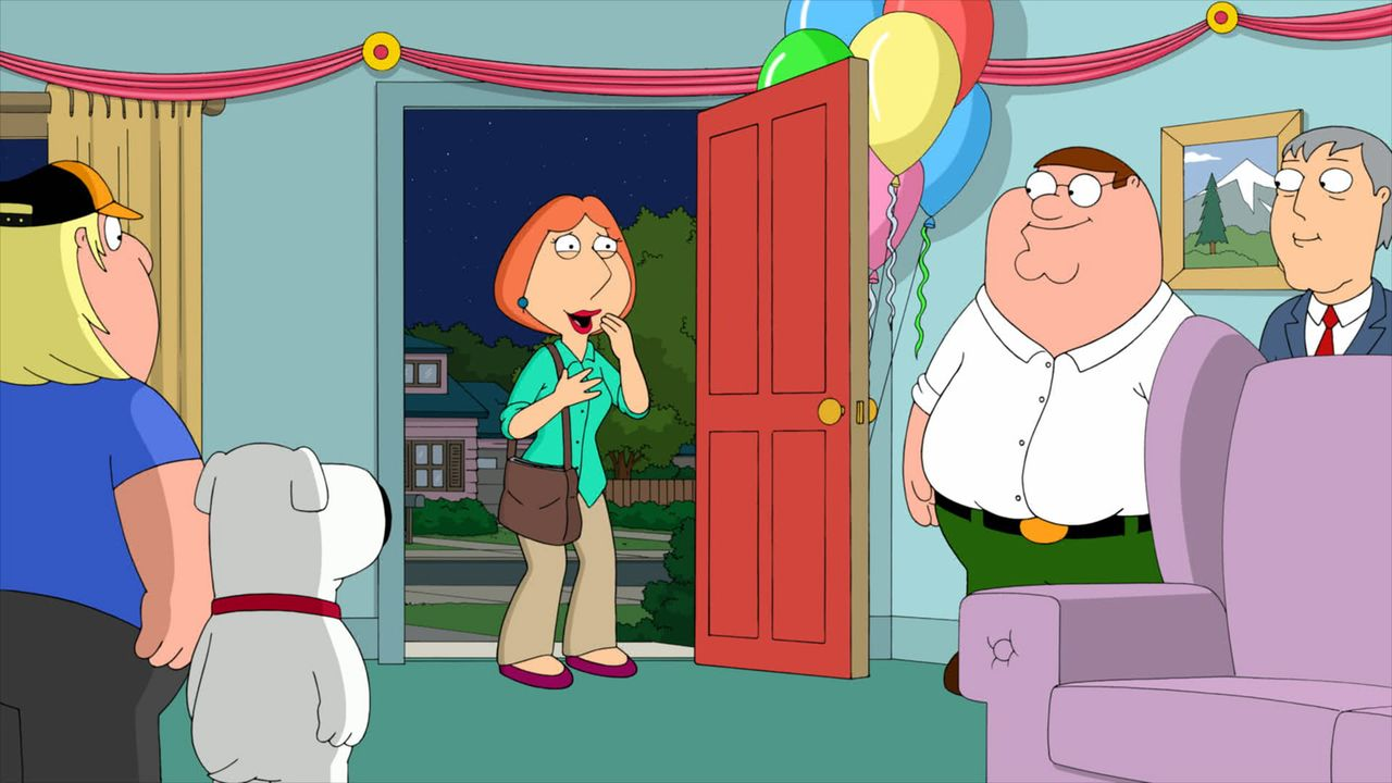 Lois' (M.) 43. Geburtstag steht an. Da sie Probleme mit dem Älterwerden hat, möchte sie auf keinen Fall feiern. Die Rechnung hat sie jedoch ohne ihr... - Bildquelle: 2013 Twentieth Century Fox Film Corporation. All rights reserved.