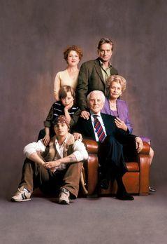 Es bleibt in der Familie - Drei Generationen der Familie Gromberg (v.l.n.r.:...