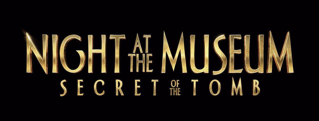 Nachts im Museum - Das geheimnisvolle Grabmal - Originaltitel-Logo - Bildquelle: 2014 Twentieth Century Fox Film Corporation.  All rights reserved.
