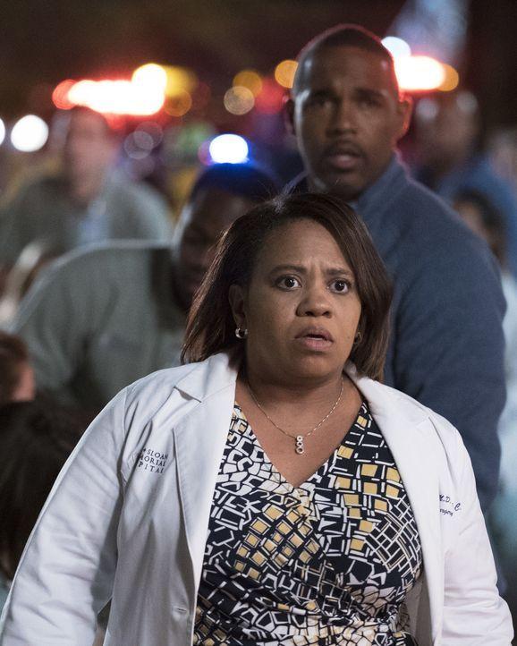 Wieder einmal kommt es im Krankenhaus zu einer Katastrophe. Dr. Bailey (Chandra Wilson) muss Ruhe bewahren und besonnen vorgehen, als ein gefährlich... - Bildquelle: 2017 American Broadcasting Companies, Inc. All rights reserved.