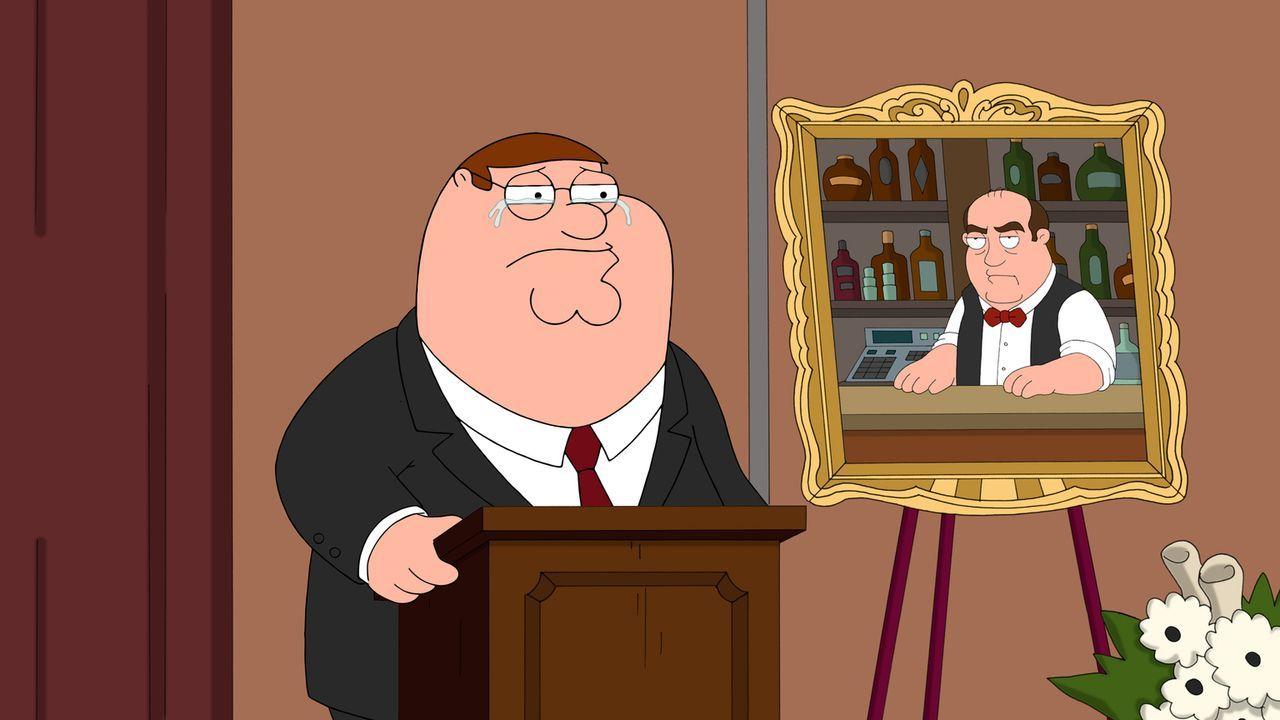 Peter muss Abschied nehmen von Horace, der bei einem Baseballspiel ums Leben gekommen ist ... - Bildquelle: 2013 Twentieth Century Fox Film Corporation. All rights reserved.