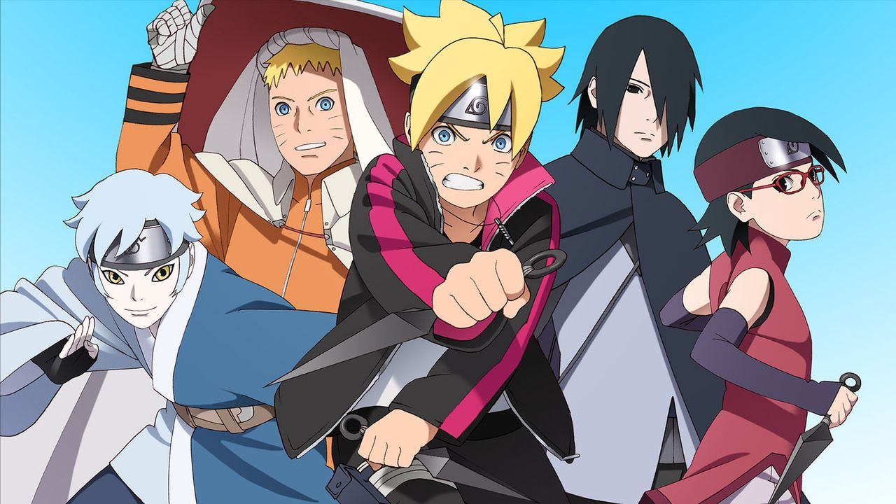 Boruto: Naruto The Movie - Artwork