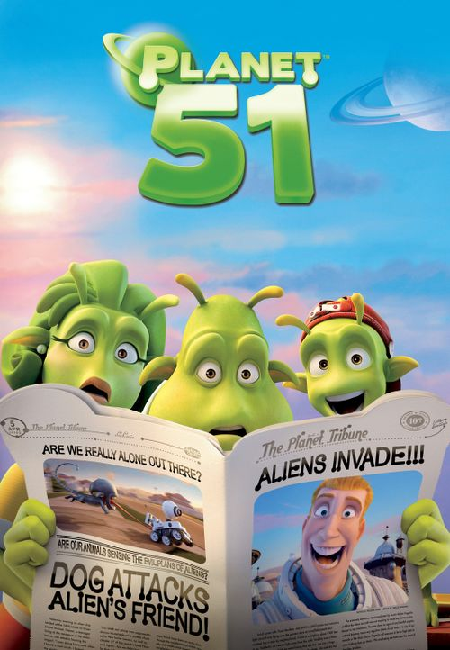 Es gibt keinen Planeten, wie deinen Planeten: Planet 51! - Bildquelle: 2009 Columbia TriStar Marketing Group, Inc.  All Rights Reserved.