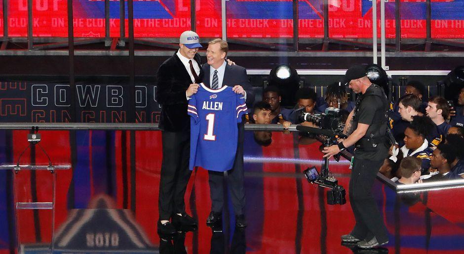 7. Pick - Buffalo Bills: QB Josh Allen - Bildquelle: getty