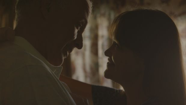 In guten Zeiten: Schauspieler Jimmy  Ferrera und seine Frau Delma Ferrara. Tr...
